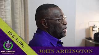 OracleOnline.Org Bro. John Arrington 1966 Nu Rho