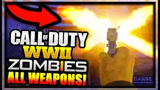 Call of Duty WW2 ZOMBIES ALL CONFIRMED WEAPONS SO FAR + GAMEPLAY! (Call of Duty World War 2 ZOMBIES)