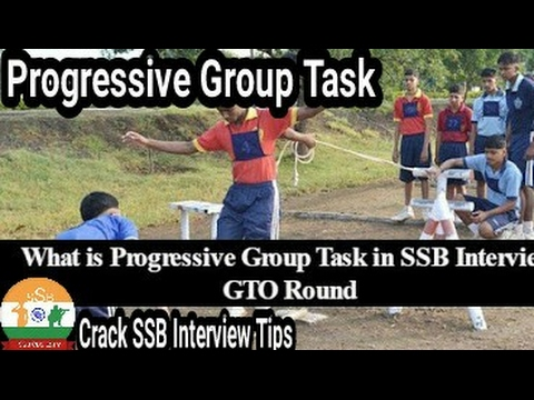 SSB Gto task # Progressive Group Task (PGT) || crack SSB interview