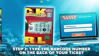 How to Enter Black Pearl Draw Game on Hoosierlottery.com
