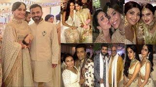 Sonam Kapoor & Anand Ahuja's 1000 Crore Wedding Reception- SRK,Salman,Katrina,Anil,Arjun,Jhanvi
