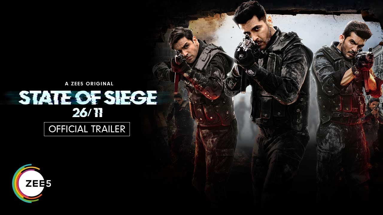 Stateof Siege: 26/11 | Telugu | OfficialTrailer | A ZEE5 Original ...