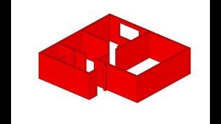 Урок 5 Как сделать модель дома.