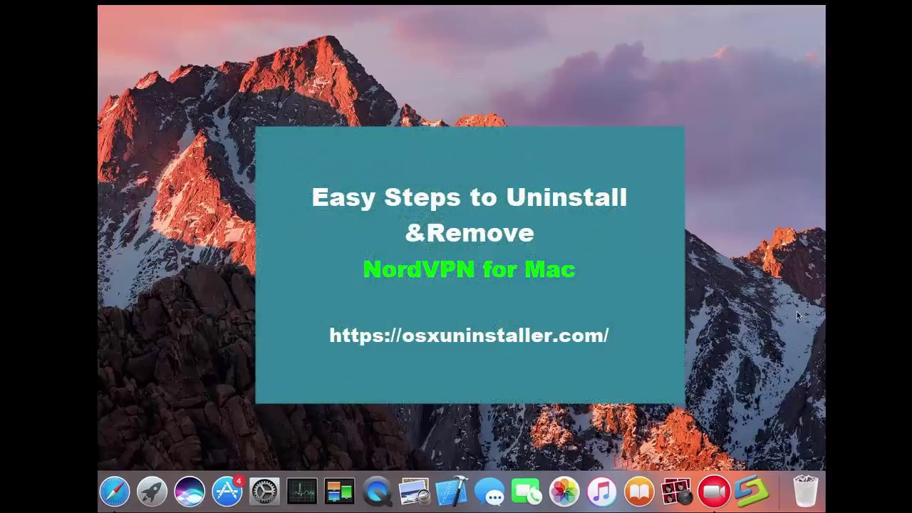 Simple Guide to Fully Uninstall Nordvpn from macOS