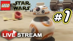Lego Star Wars: The Force Awakens PART 1 - Live Stream