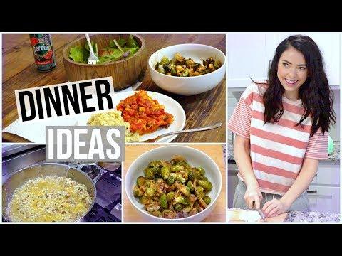 3 Healthy Dinner ideas! Meal Prep!