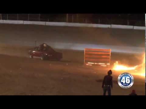 05/13/2013 Pahrump Valley Speedway Dr. Danger Stuntman