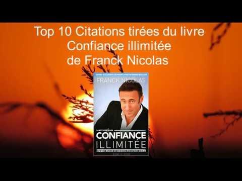 Top 10 Citations Livre Confiance Illimitée De Franck Nicolas Partie 2