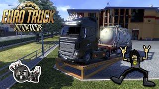 Euro Truck 2 - Metais Pesados \m/! Logitech G27