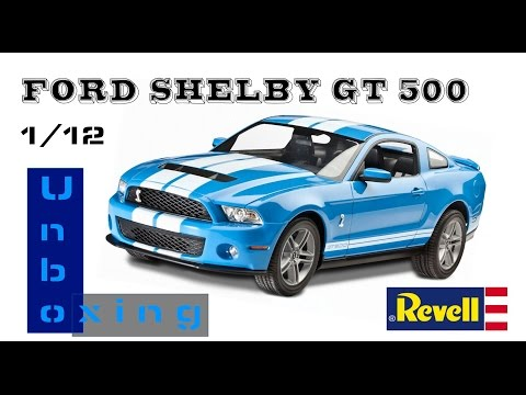 Revell  Big scale 1:12 FORD SHELBY GT500. PART 1