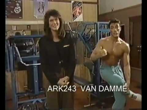 Jean Claude Van Damme _  Interview Promote to Bloodsport  1987
