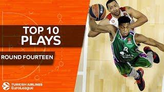 Top 10 Plays  - Turkish Airlines EuroLeague Regular Season Round 14