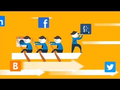 Order an Animated Explainer Video about Social Media Marketing - rocketavideo.com