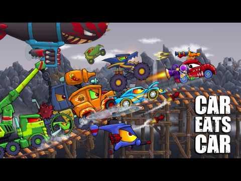 Car Eats Car 2 - Gameplay demo