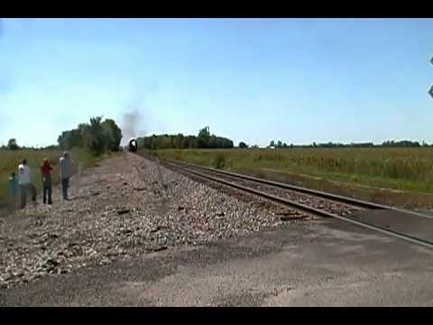 NKP 765 at Staunton,Illinois on NS 099
