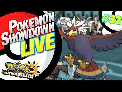 Pokemon Showdown LIVE! VGC 2018 Ultra Sun and Moon Battles #32 Braviary Beatdown!