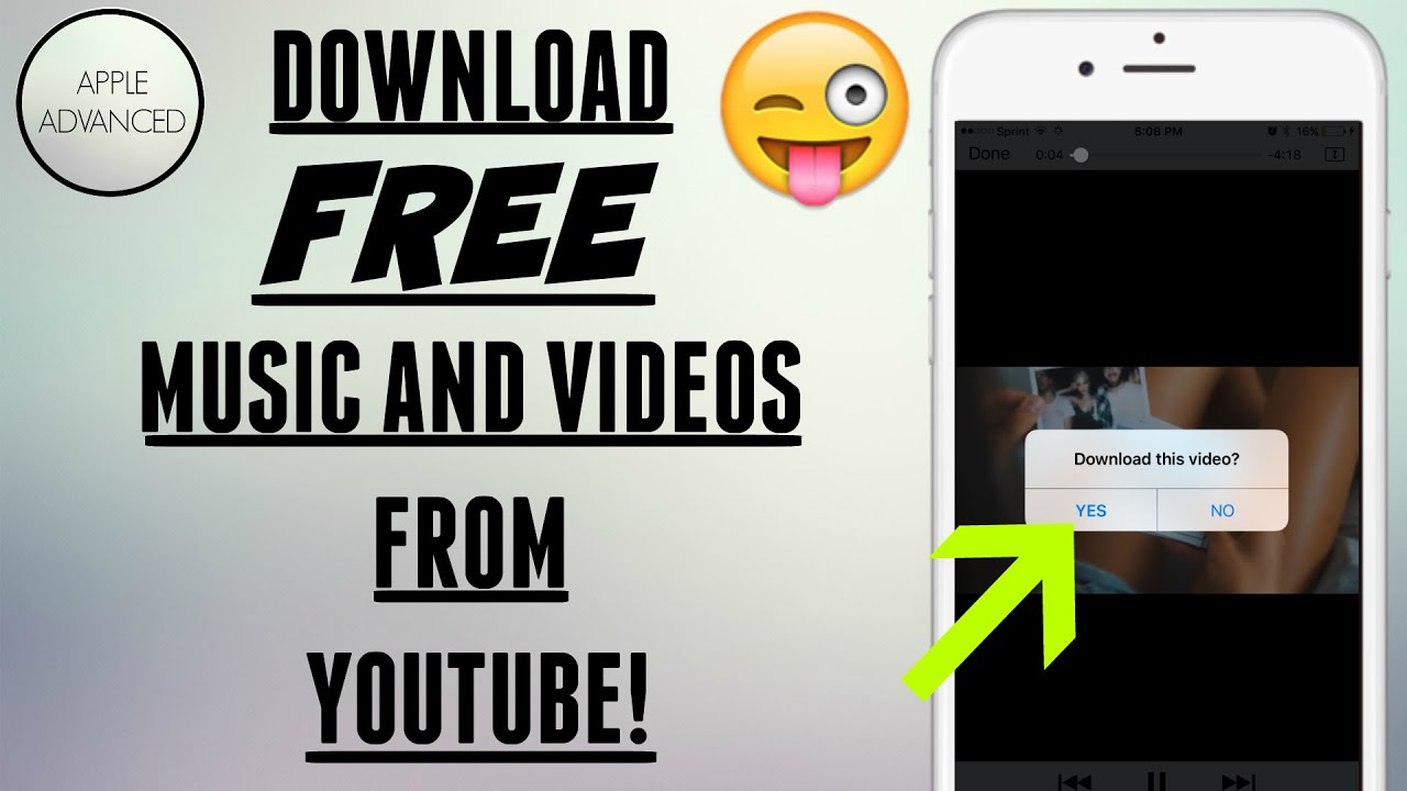 Get this app before its banned download free music and videos download free music and videos straight from youtube ios 10 and 9 apple advanced ccuart Choice Image