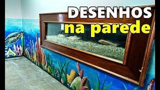PINTOR DE PAREDE EM SÃO PAULO -desenhos na parede 🎨desenhista de parede em são paulo