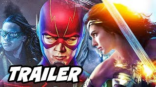 The Flash 4x07 Promo and Wonder Woman Crossover Scene Explained