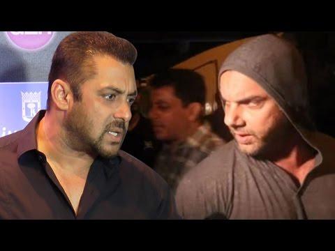 Salman Khan Defends Sohail Khan's ABUSIVE behaviour with journalist