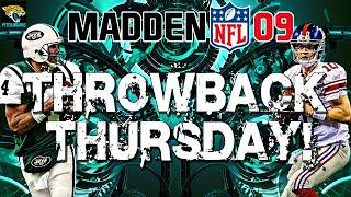 Throwback Thursday: Madden NFL 09! Backtrack, Adaptive AI, Injury Analysis!