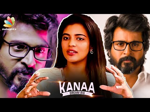Sivakarthikeyan Emotional Scene Making : Aishwarya Rajesh Reveals   Kanaa Team Interview