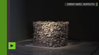 Une sculpture réalisée à partir d'os humains suscite une polémique en Espagne