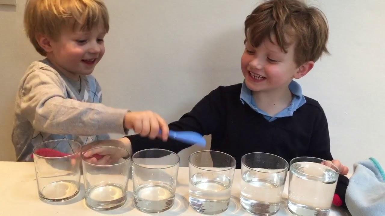 Ljud från xylofon av glas - bNosy Enkla Experiment för Barn 25