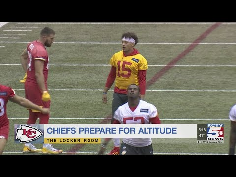 Chiefs Staying In KC To Prepare For High-altitude Mexico City Game