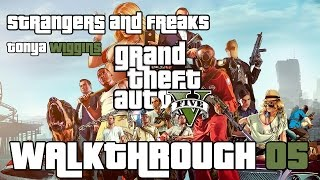 Grand Theft Auto: V PC 100% Gold Medal Walkthrough 05 Tonya W. (Strangers and Freaks) Pulling Favors