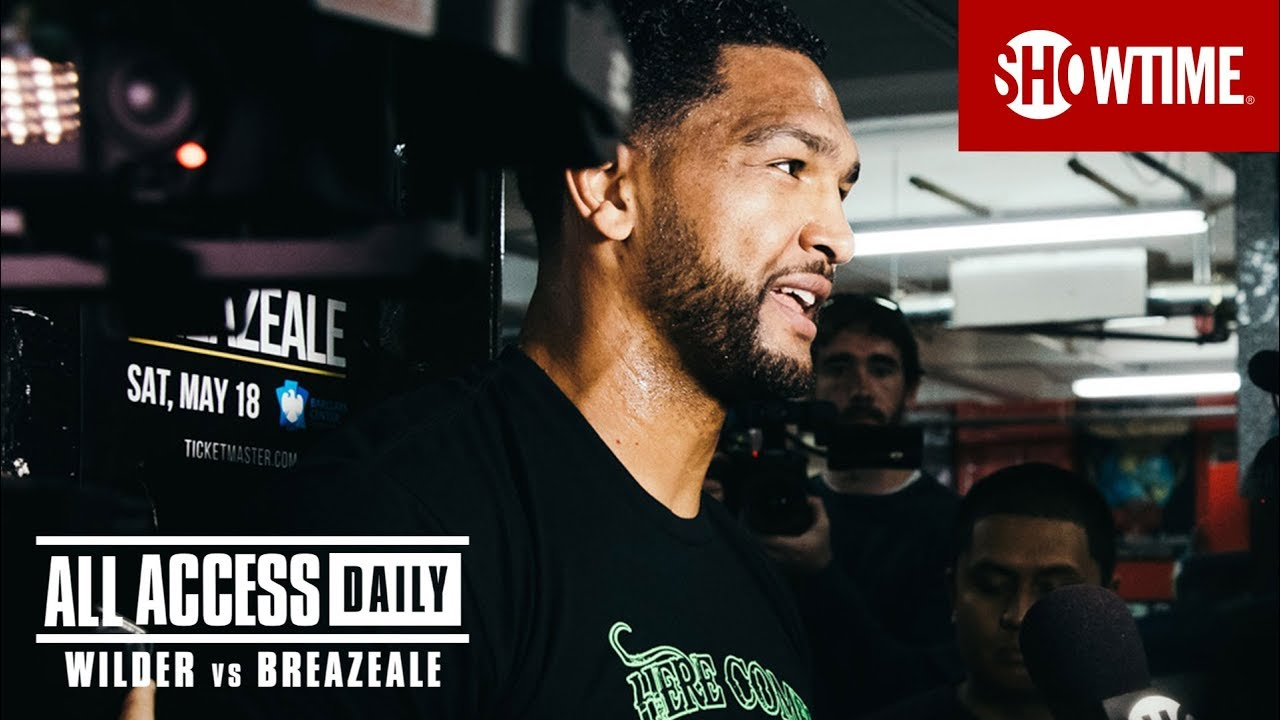 Download ALL ACCESS DAILY: Wilder vs. Breazeale   Part 2   SHOWTIME