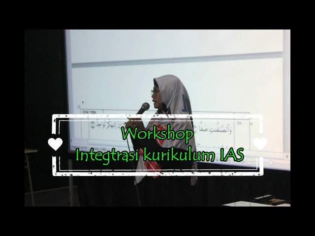 Workshop Intergrasi IAS Bersama Prof. Fahmi Amhar