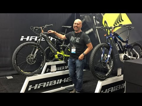 2018 Haibike Electric Bike Updates from Interbike (Bosch PowerTube, SDURO Cross 1.0, New XDURO)