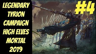 Legendary High Elf Campaign #4 (Tyrion) -- Mortal Empires 2019 -- Total War: Warhammer 2