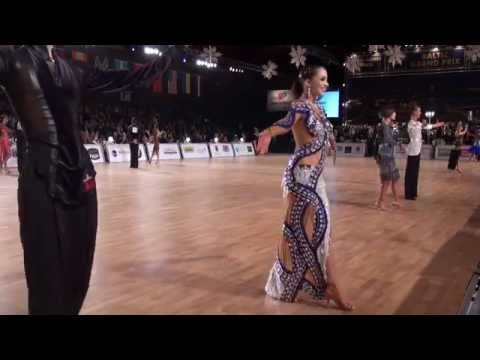 00004 Baltic Grand Prix 2015. WDSF World Championship Latin Junior II. Hotel ISLANDE Cup + Show