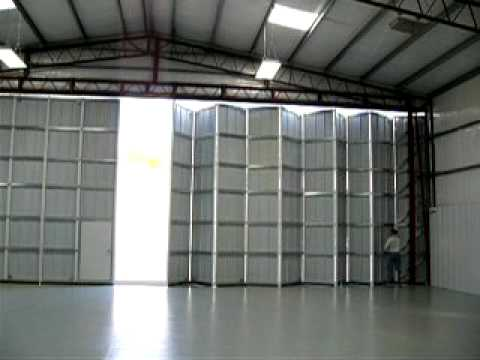 Fold Tite Stacker Door Operation Youtube