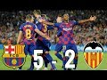 Barcelona vs Valencia [5-2], La Liga 2019/20 - MATCH REVIEW