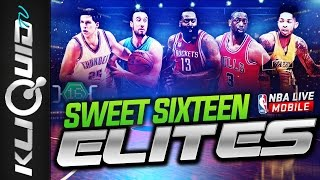 NEW ROUND of 16 ELITES   MOBILE MADNESS PACK OPENING   NBA LIVE MOBILE