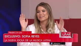 Sofía Reyes, la nueva ídola de la música latina en un mano a mano con Ángel de Brito