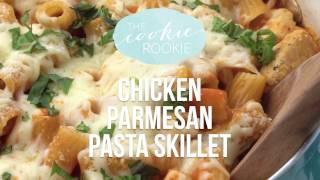 Chicken Parmesan Pasta Skillet