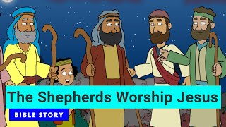 Primary Year A Quarter 4 Episode 12 The Shepherds Worship Jesus