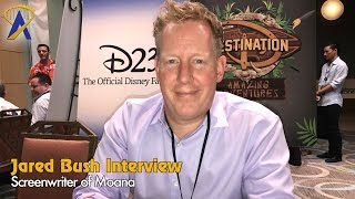Interview with Moana screenwriter Jared Bush at D23 Destination D