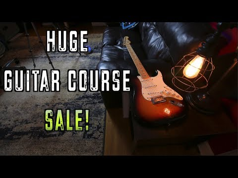 Huge Guitar Course Bundle Sale This Week!! - Big Plans :)