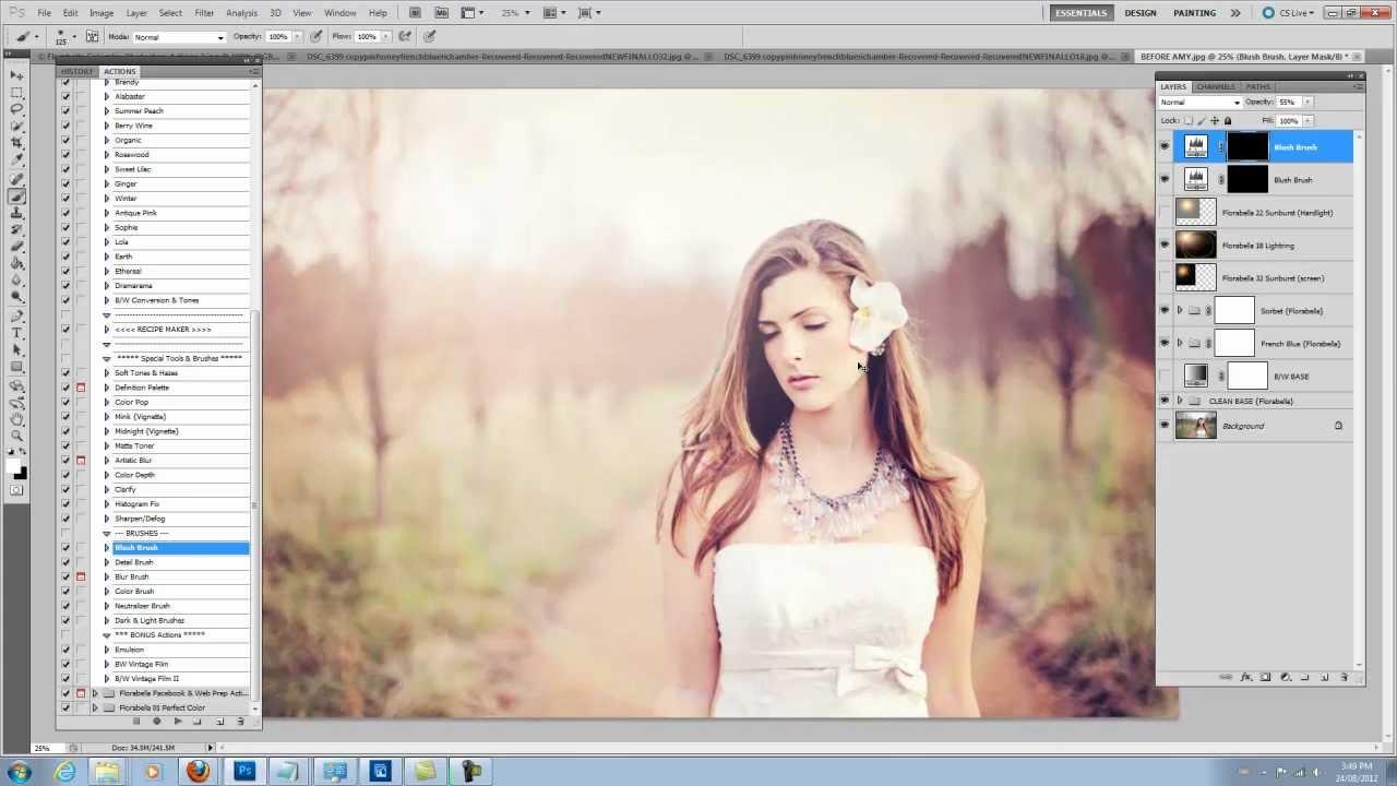 Florabella Colorplay Photoshop Actions