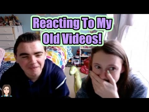 Reacting To Old Videos With My Brother!   Kelli Maple