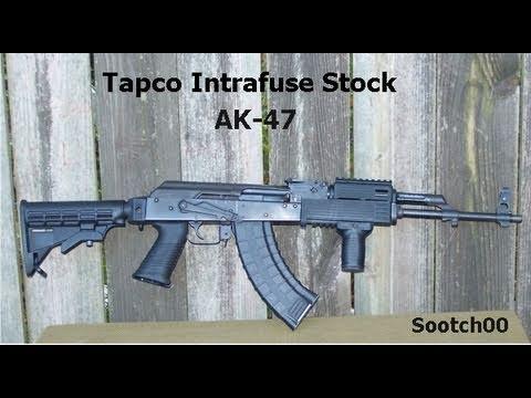Tapco AK-47 Intrafuse Stock - YouTube