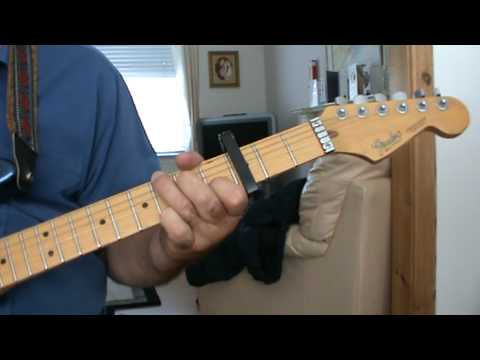 Beer For My Horses Guitar Intro Willie Nelson Toby Keith Cover Part 2