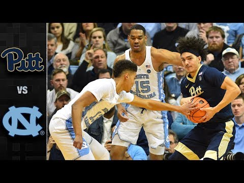Pittsburgh vs. North Carolina Basketball Highlights (2017-18)