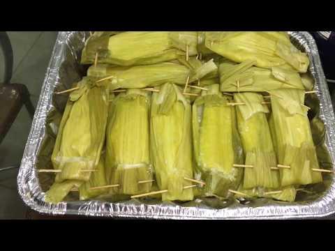 How to make corn dessert Nab sa lee ແໜບສາລີ ( LAO FOOD ) HOME MADE BY KAYSONE