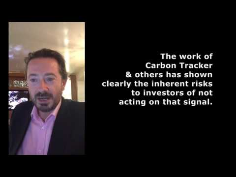 Anthony Hobley,  Carbon Tracker Initiative - Paris Agreement on climate change entry into force